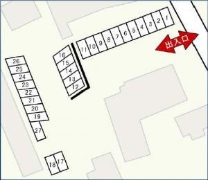 駐車区画図