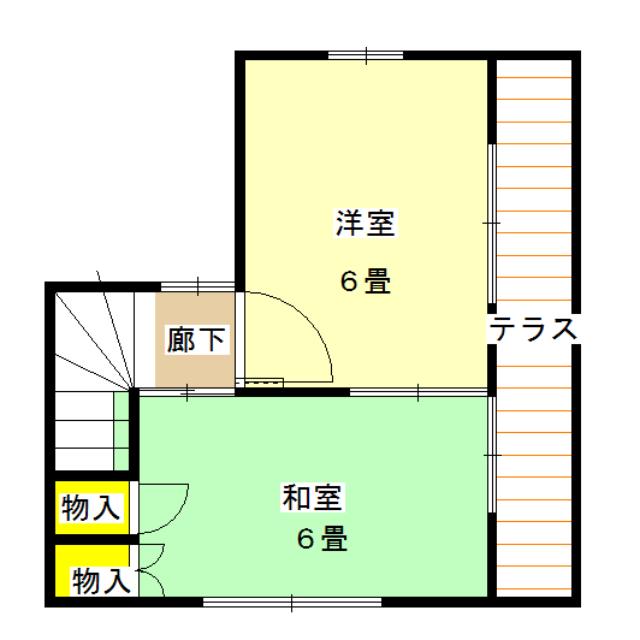 間取り(2階)