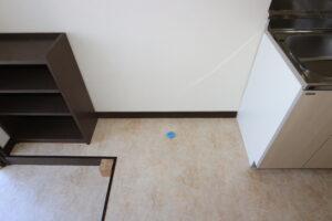 洗濯機置き場、冷蔵庫置き場