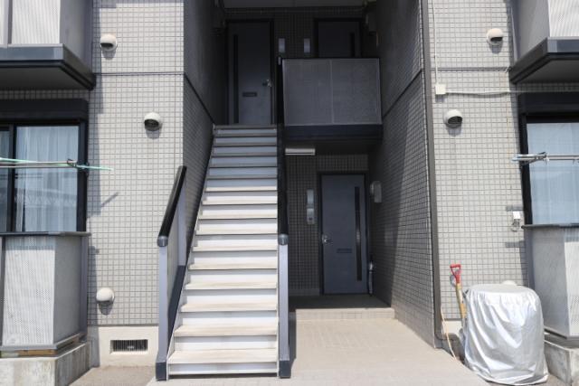 階段、玄関