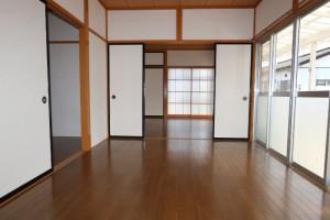洋室(西)→(東)
