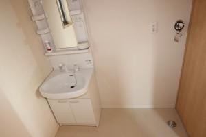 洗髪洗面化粧台、洗濯機置き場(地図)