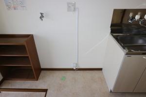 洗濯機置場、冷蔵庫置場