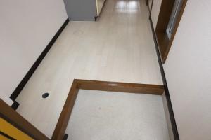 洗濯機置き場、玄関ホール