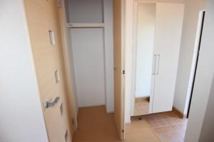 下駄箱、姿見、玄関ホール収納