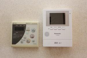 追い炊き給湯器リモコン、テレビドアフォン