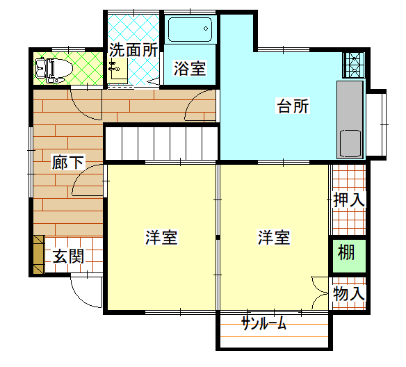 間取り(1階)