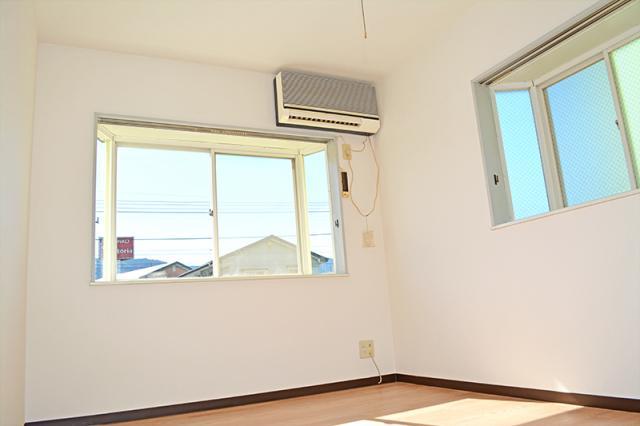 洋室6畳、エアコン